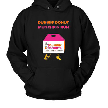 Dunkin Donuts Hoodie Two Sided