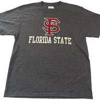 Florida State University FSU Majestic Short Sleeve TSHIRT Size L