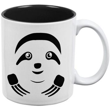 DCCKJY1 Cute Sloth Face All Over Coffee Mug