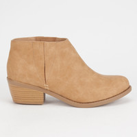 SODA Zoie Womens Booties | Boots & Booties