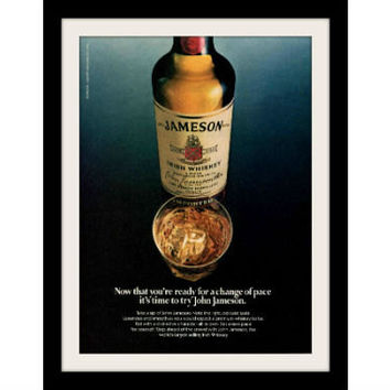 1981 John Jameson Irish Whiskey Ad, Vintage Advertisement Print