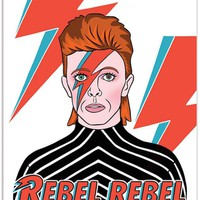 THE FOUND David Bowie - Rebel Rebel