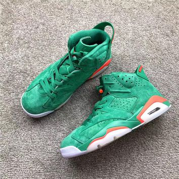 "Air Jordan 6 ""Christmas Green"""