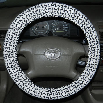 Dog Bones Steering Wheel Cover