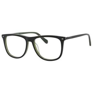 Fossil - Fos 7030 Black Green Eyeglasses / Demo Lenses