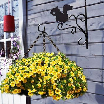 House Decorative Flower Pot Hanging Holder Plant Racks
