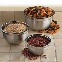 3 Pc Stainless Steel Mixing Bowl Set