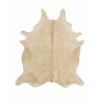 Gold Cowhide Rug