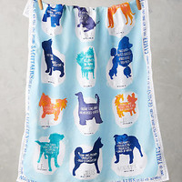 Zodiac Companion Tea Towel