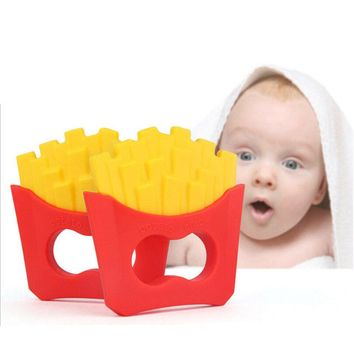 BABY French Fries Silicone Teething Ring