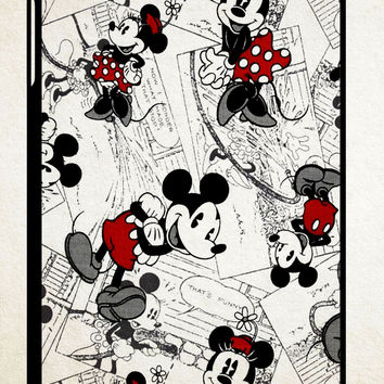 mickey mouse wallpaper Y0328 iPad 2 3 4, iPad Mini 1 2 3, iPad Air 1 2 , Galaxy Tab 1 2 3, Galaxy Note 8.0 Cases