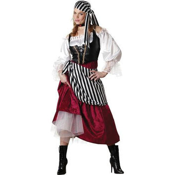 Women's Costume: Pirate's Wench | XL