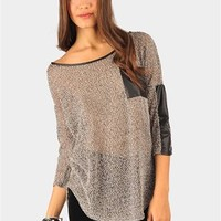 Union Square Knit Sweater - Taupe at Necessary Clothing