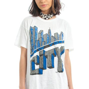 Vintage 80's New York City Tee - One Size Fits Many
