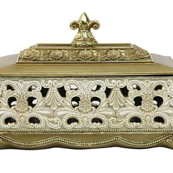 D'Lusso Designs Kayla Collection Large Jewelry Box