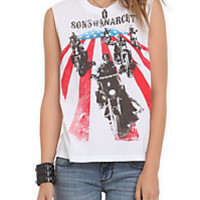 Sons Of Anarchy Bikers Muscle Girls T-Shirt | Hot Topic