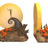 "NECA Nightmare Before Christmas ""Spiral Hill"" Bookends"