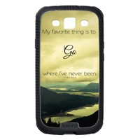 Where I've Never Been Samsung Galaxy Skinit Case from Zazzle.com