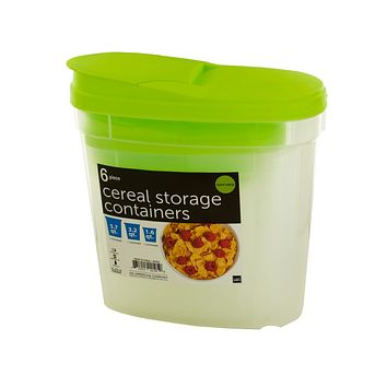 Nesting Cereal Storage Containers