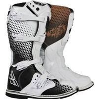 Fly Racing Youth Maverik Vapor Boots - Youth 5/White