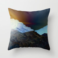 Let There Be Light Throw Pillow by Lynsey Ledray