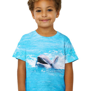 Kids Swimming Dolphin