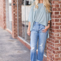 501 Morning Haze Levis Boyfriend Jean