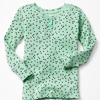 Gap Baby Printed Henley Sleep Shirt