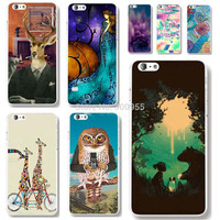 """Phone cases for iPhone 6 6s 4.7""""Lovely Colorful  tiger dog deer Animals painted  designed Hard Plastic  back cover skin shell"""
