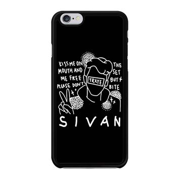 Troye Sivan Art Kiss Me On Mouth Arf 001  iPhone 6/6S Case