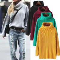 Pullover Sweater Winter Thicken Jacket [9541524359]