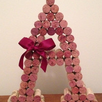 "8"" or 12"" Wine Cork Letter A"