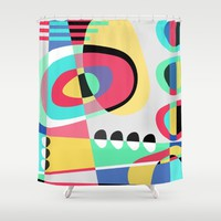 Naive VII Shower Curtain by Susana Paz | Society6