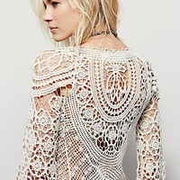 Free People Crochet Bodycon