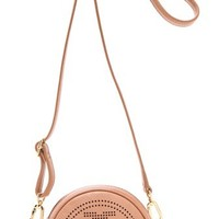 Tory Burch Perforated Logo Cross Body Bag | SHOPBOP