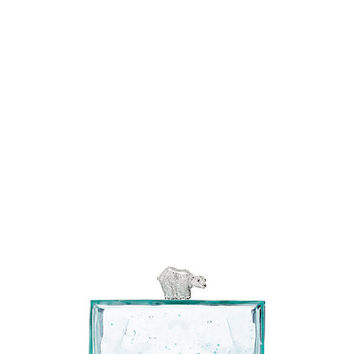Kate Spade Caution To The Wind Polar Bear On Ice Clutch Multi ONE