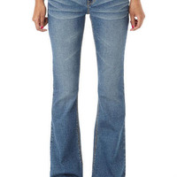 Bailey Blue Lagoon Low-Rise Flare Jean