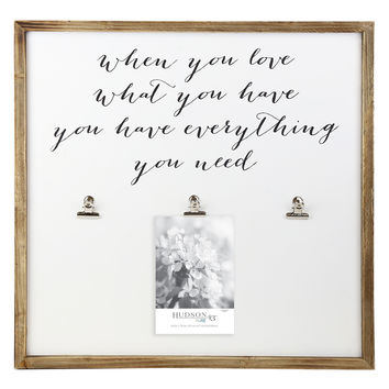 Hudson 43 Pure Sentiment Clipboard | JOANN