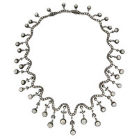 1STDIBS.COM Jewelry & Watches - Important French Victorian Diamond Necklace - Frank Giganti