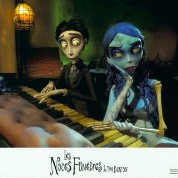 Tim Burton's Corpse Bride (French) 11x14 Movie Poster (2005)