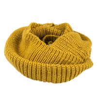 Ginger Knitted Funnel Snood