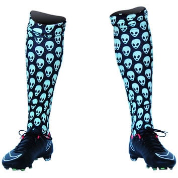 Alien Custom Sublimated Nike Soccer Socks
