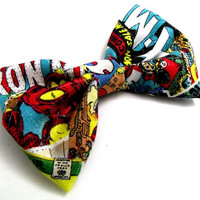 Marvel Comic Book Bow