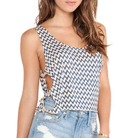 Tiare Hawaii Andrea Tank in Blue