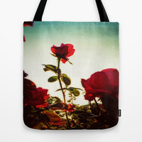 RED RED RED Tote Bag by DuckyB (Brandi)