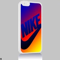 Just do it NIKE Colorful 02 Iphone 4/4s 5 5c 6 6plus Case (iphone 6 white)