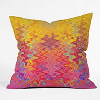 Elisabeth Fredriksson Goodbye Summer Throw Pillow