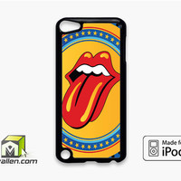 Rolling Stone Yellow iPod Touch 5th Case Cover by Avallen