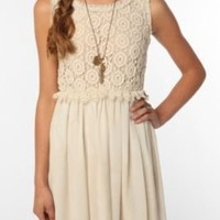Staring At Stars Crochet Top Dress