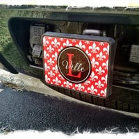 Personalized  / Monogrammed Trailer Hitch Car by SassySouthernGals